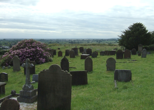 View from St Mary's churchyard.