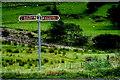 G6986 : Glengesh Pass - Sign by Joseph Mischyshyn