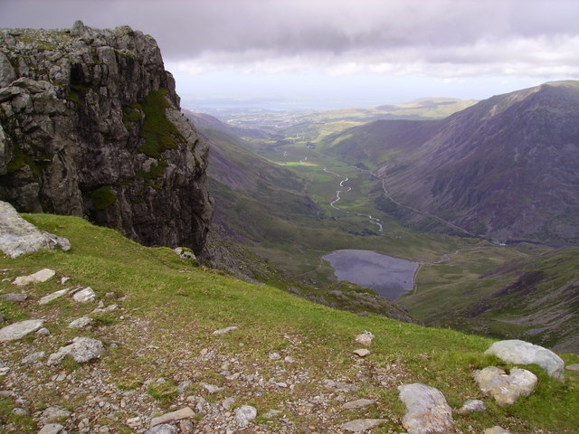 The crags of Glyder Fawr