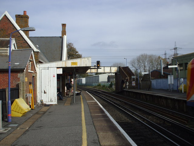 Totton Railway Station © nick macneill :: Geograph Britain and Ireland