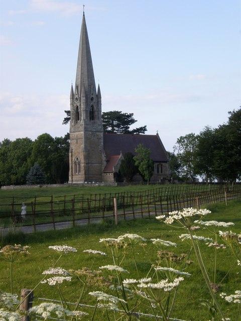 View of Scorborough church