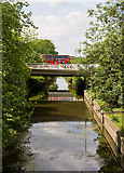 TQ2387 : River Brent and Templehof Avenue by Martin Addison