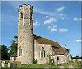 TM2894 : All Saints Church by Evelyn Simak