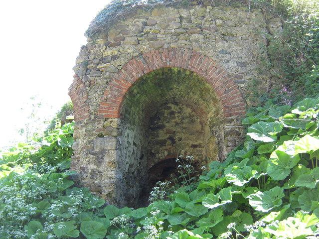 Abandoned limekiln