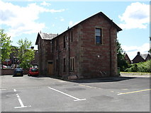 NS3881 : Formerly Balloch railway station now Tourist information centre by James Denham
