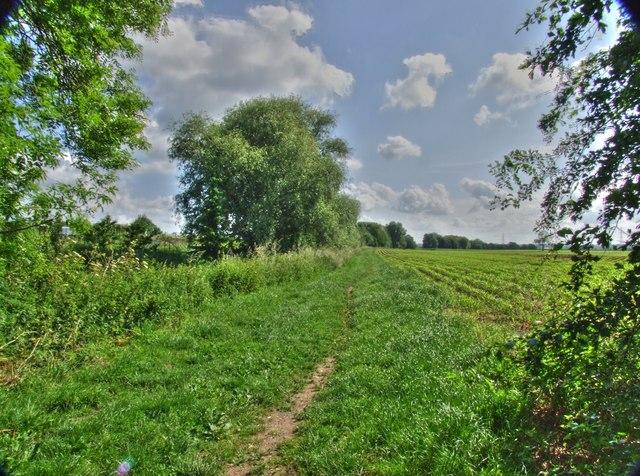 A footpath to Bulcote