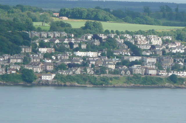 Newport from summit of Dundee Law