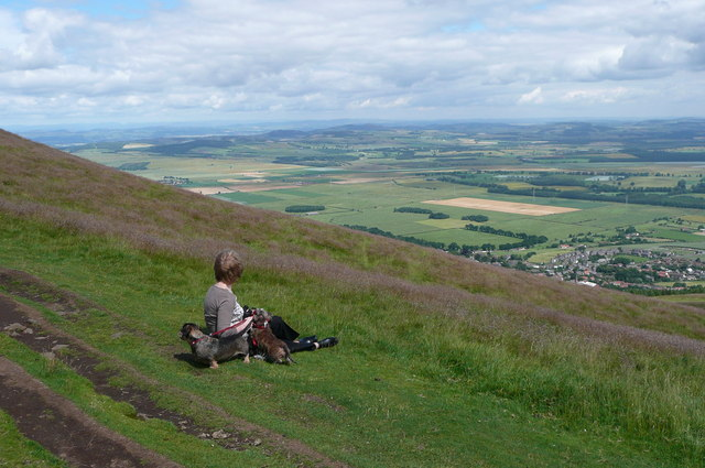 Part of Howe of Fife from Falkland Hill