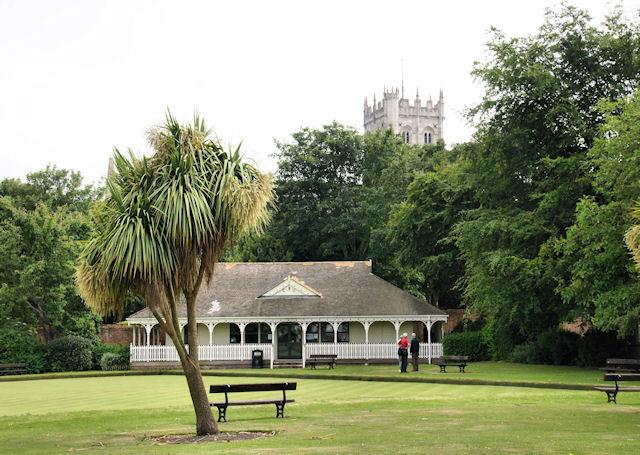 Kings Arms Hotel Tea Garden