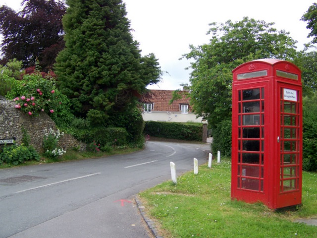 Telephone box, Cerne Abbas
