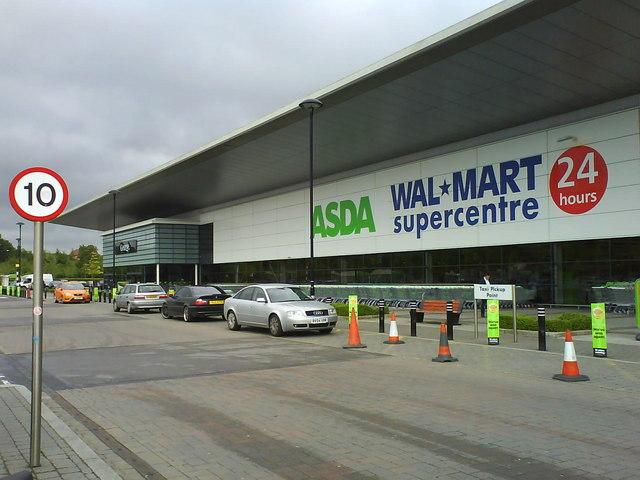 ASDA Wal-mart supercentre in Swindon