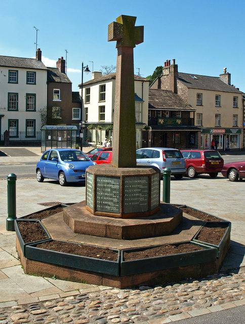 War Memorial, Kirkby Stephen