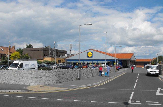Another of Burnham on Sea's supermarkets