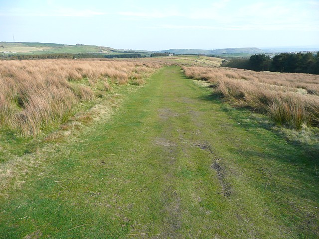Track over Thornton Moor, Ovenden
