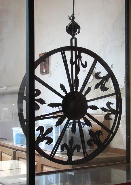 St Mary's church - the Sexton's wheel