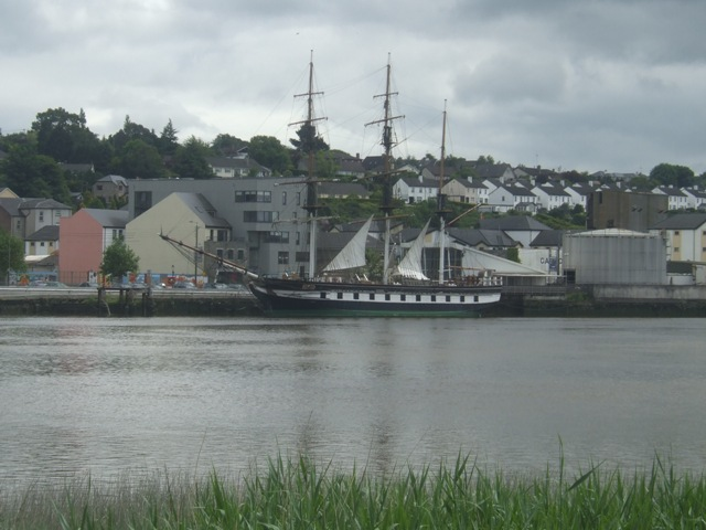 Replica of the Dunbrody Famine Ship