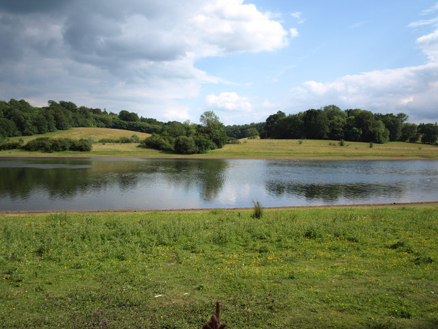 Most westerly point of Bewl reservoir