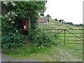 SY6687 : Winterborne St. Martin: postbox № DT2 184, Ashton Farm by Chris Downer