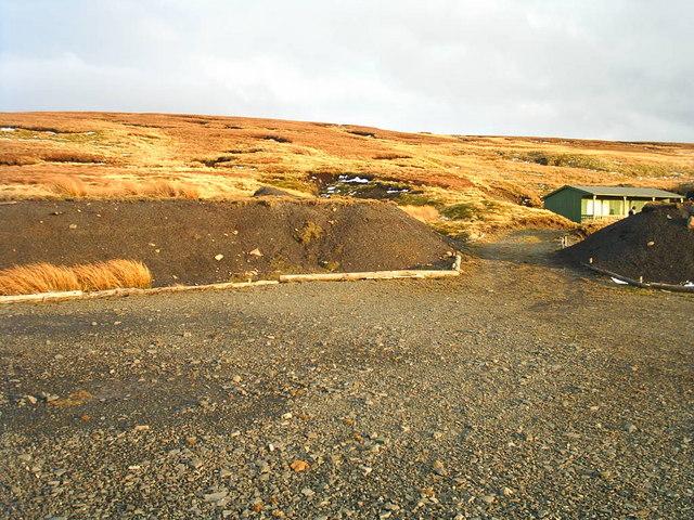 Grouse Hut on Killhope Law Near Coalcleugh