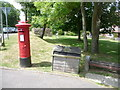 SZ0382 : Studland: postbox № BH19 79, Ferry Road by Chris Downer