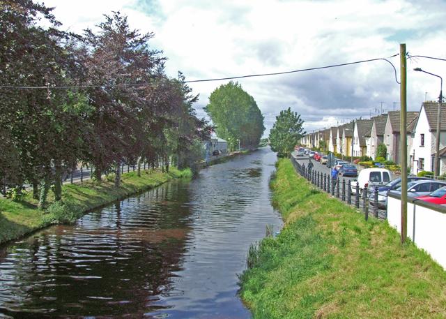Grand Canal at Bury Quai Tullamore Co. Offaly