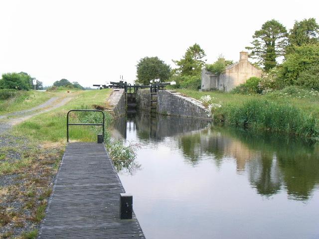 Grand Canal 15th Lock at Sherlockstown Common, Co. Kildare