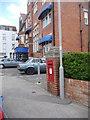 SZ0379 : Swanage: postbox № BH19 149, Burlington Road by Chris Downer