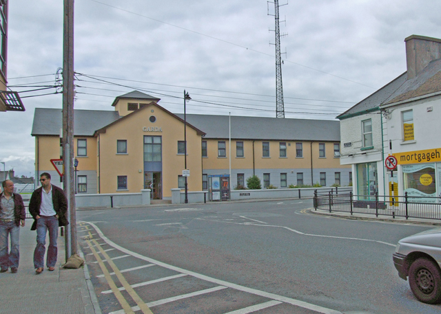 Garda headquarters Tullamore Co.Offaly