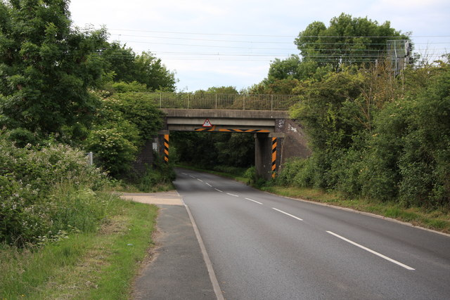 Railway Bridge over Wash Road, Hutton