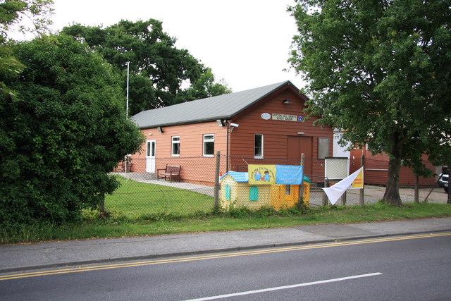 Scout Hut in Wash Road, Hutton