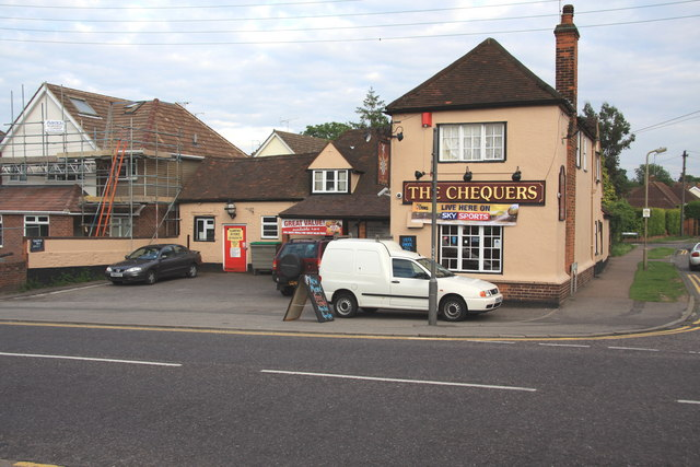 The Chequers Pub, Rayleigh Road, Hutton