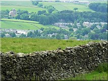 SD8262 : Over looking Settle, Giggleswick and Giggleswick School Chapel by Andy Jamieson