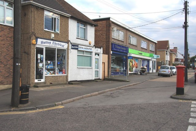 Local Shops in Rayleigh Road, Hutton