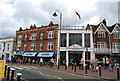 TQ5839 : Entrance to The Royal Victoria Place, Tunbridge Wells by N Chadwick