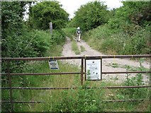 SY8086 : Access to Nature Reserve by John Palmer