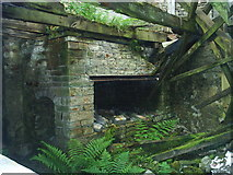 NY8046 : Disused Blacksmiths Forge by John Chapman