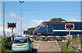 NU2309 : Wooden Gate level crossing (3) by Andy F