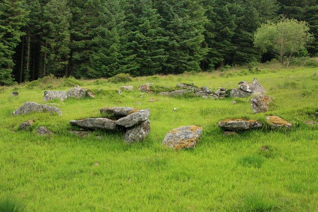 Assycombe hut circle