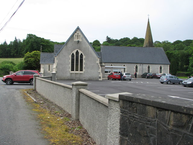 Church Hall and carpark