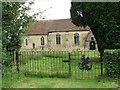 TM1582 : The churchyard gate by Evelyn Simak