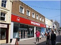SH4862 : Woolworths, Caernarfon by Nigel Mykura