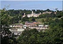 SX8752 : Britannia Royal Naval College from Hoodown by Derek Harper