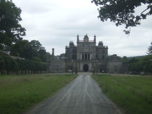 Back of Curraghmore House