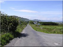C3632 : Road at Aghilly by Kenneth  Allen