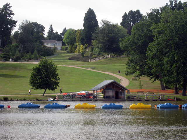 Pedalos at Dunorlan Park by Oast House Archive