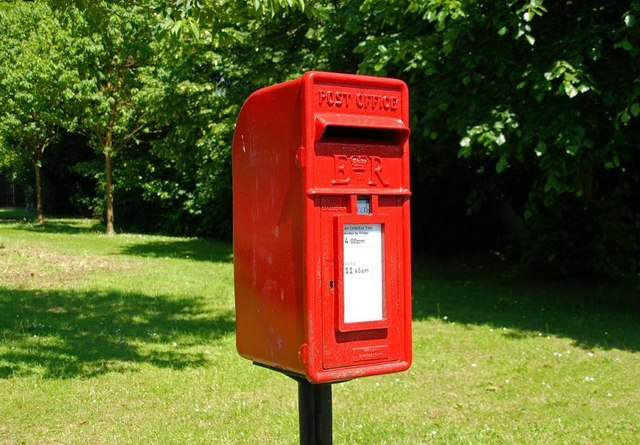 Letter box, Lambeg