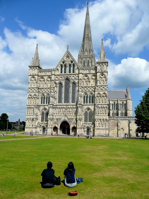 Salisbury Cathedral Close