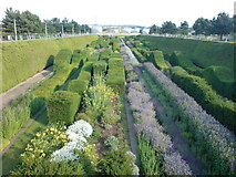 TQ4179 : Thames Barrier Park, Silvertown by Danny P Robinson