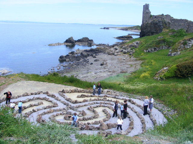 The Labyrinth at Kennedy Park Dunure