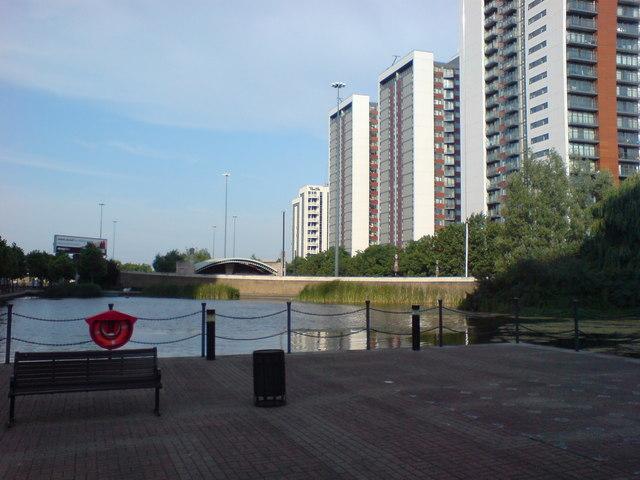 Pool near Saffron Avenue, E14